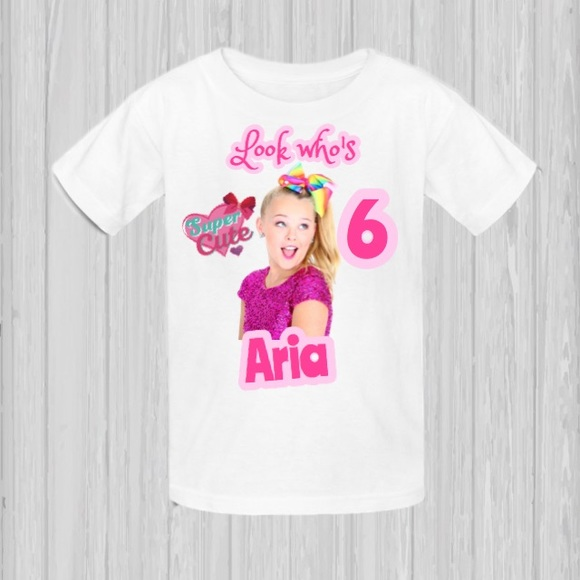 JoJo Siwa T Shirt Birthday Personalized